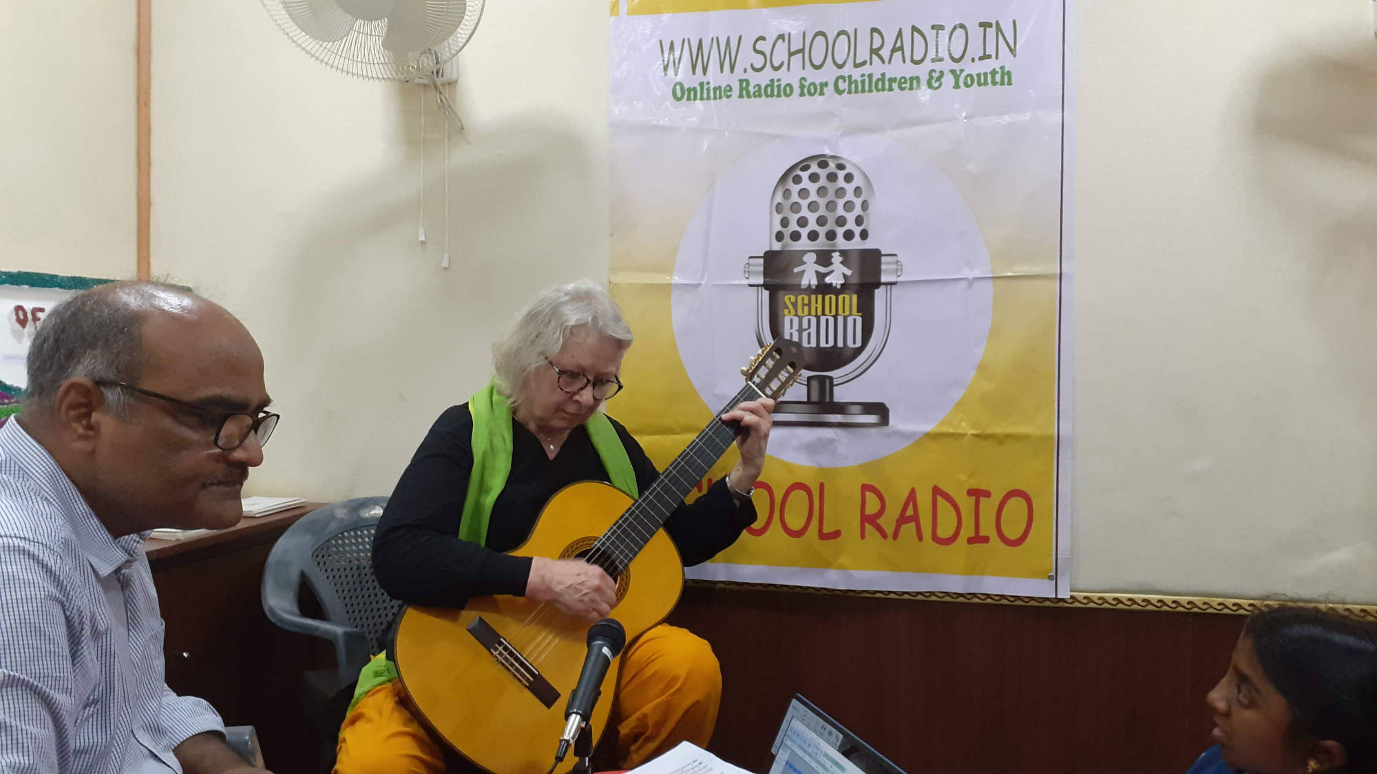 School Radio recording