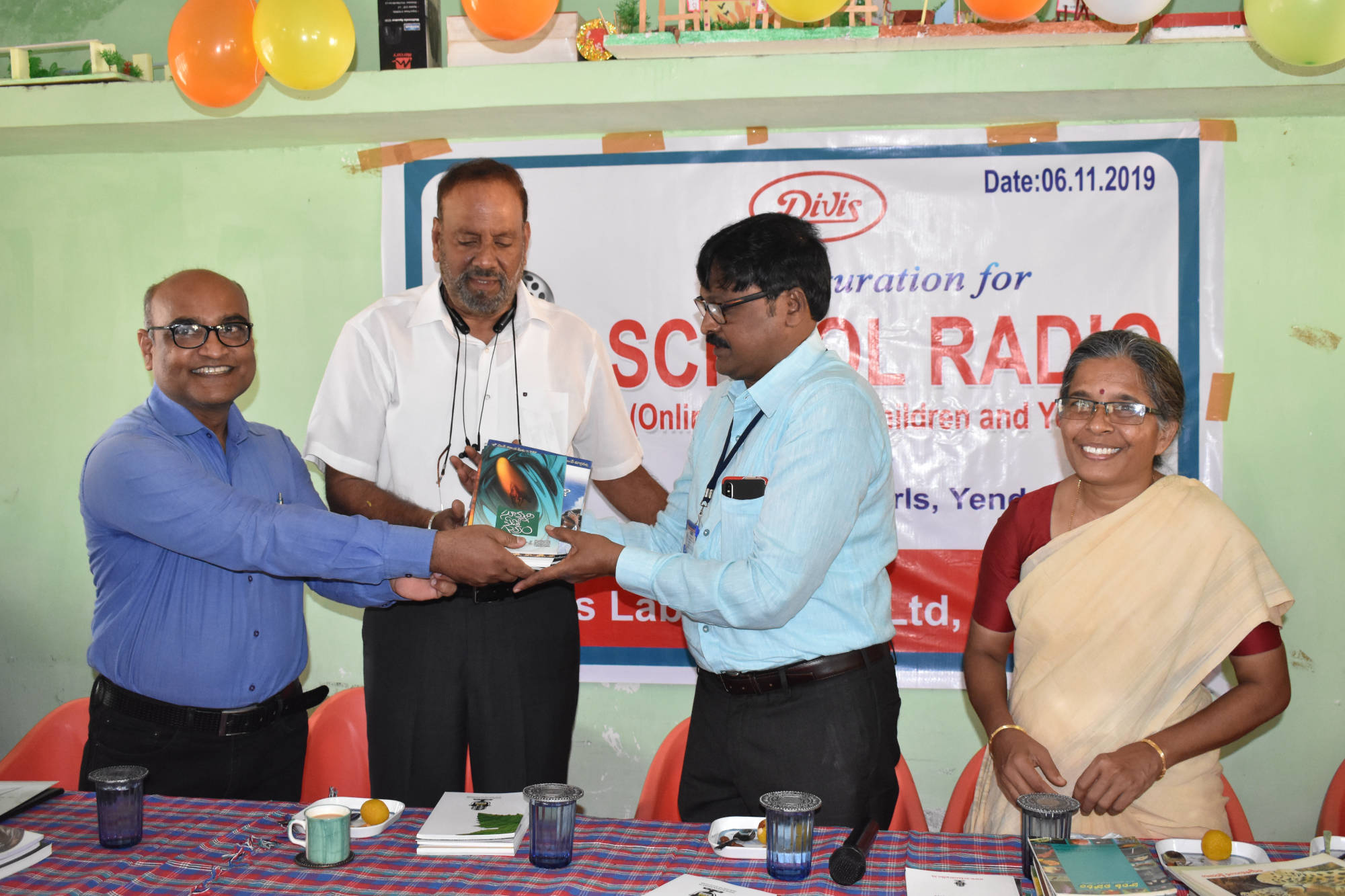 School Radio for Visually Challenged Girls